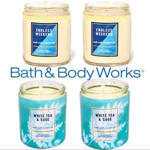 Bath & Body Works Candle Bundle